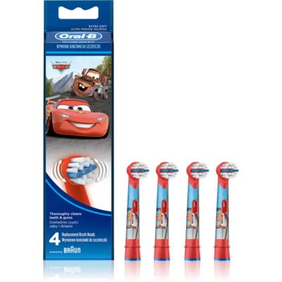 Oral B Stages Power EB10 Cars Vervangende Opzetstuk voor Tandenborstel  Extra Soft