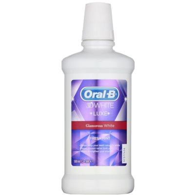 ústní voda pro zářivě bílé zuby