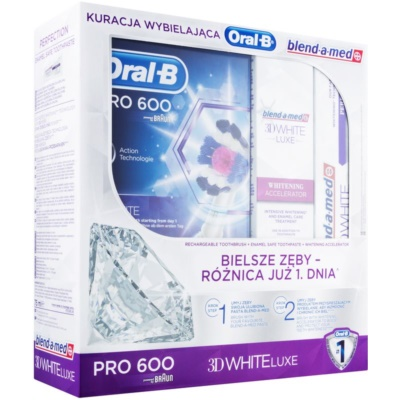 Oral B 3D White Luxe Cosmetic Set I.