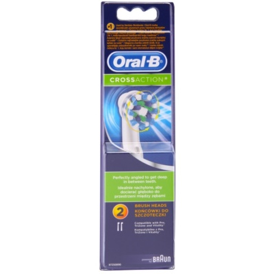 Oral B Cross Action EB 50 tartalék kefék