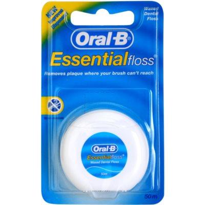 voskovaná dentální nit