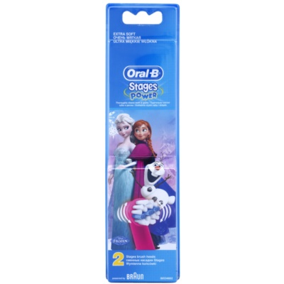 Oral B Stages Power Frozen EB10K tartalék kefék extra soft