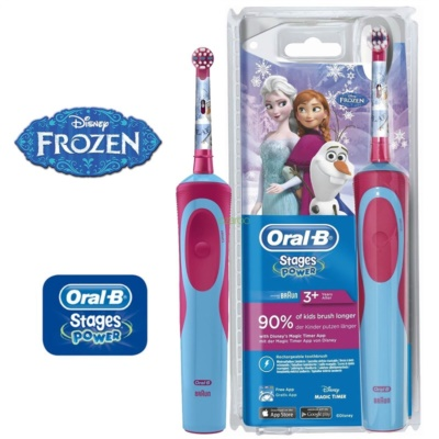 Oral B Stages Power Frozen D12.513K cepillo de dientes eléctrico  para niños
