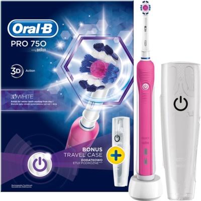 Oral B Pro 750 D16.513.UX 3D White elektromos fogkefe