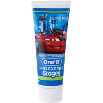 Oral B Pro-Expert Stages Cars dentifricio per bambini