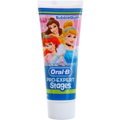 Oral B Pro-Expert Stages Princess dentifricio per bambini
