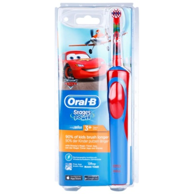Oral B Stages Power Cars D12.513.1 Electric Toothbrush For Kids