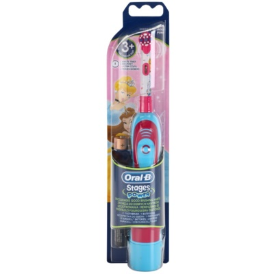 Oral B Stages Power DB4K Princess brosse à dents à piles enfant soft