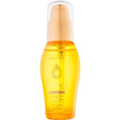 óleo suavizante  para cabelo