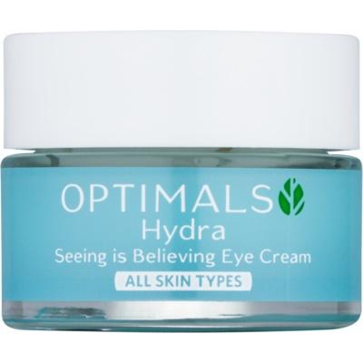 crema hidratante para contorno de ojos