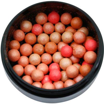 polvos bronceadores en perlas