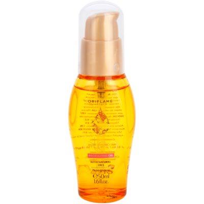 olejek ochronny do włosów farbowanych