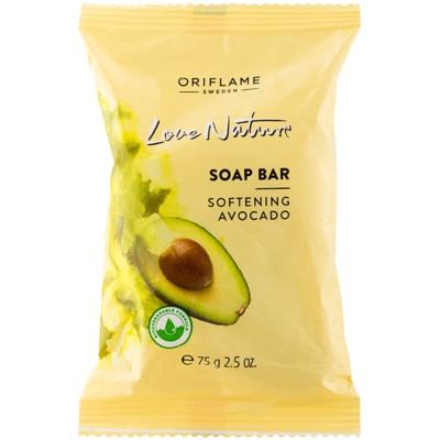Seifenstück mit Avocadoduft
