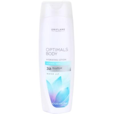 leite hidratante para a pele normal