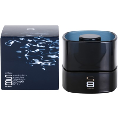 Oriflame S8 Night Eau de Toillete για άνδρες