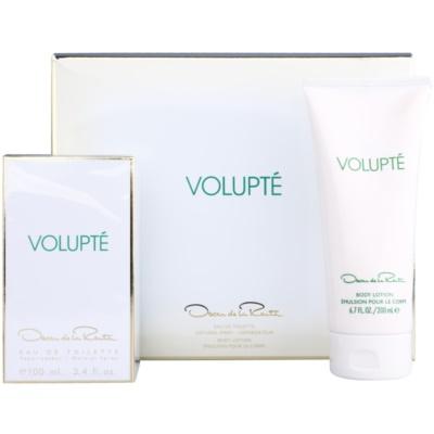 Oscar de la Renta Volupté ajándékszett I.  Eau de Toilette 100 ml + testápoló tej 200 ml