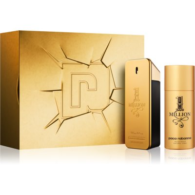 Paco Rabanne 1 Million ajándékszett II. Eau de Toilette 100 ml + dezodor spray 150 ml