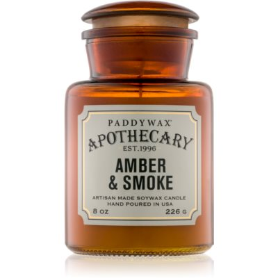 Paddywax Apothecary Amber & Smoke Geurkaars r