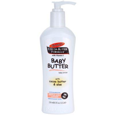 Palmer's Baby Cocoa Butter Formula lait corporel hypoallergénique à la vitamine E