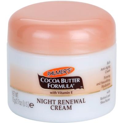 erneuernde Nachtcreme gegen Hautalterung