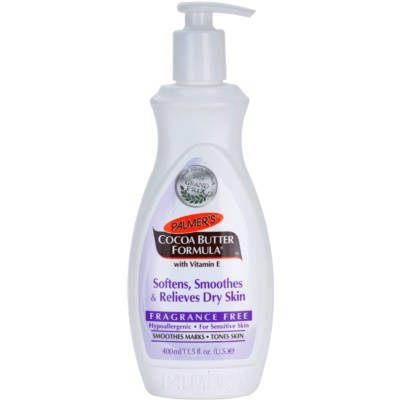 zjemňující tělový balzám vyhlazující suchou pokožku bez parfemace