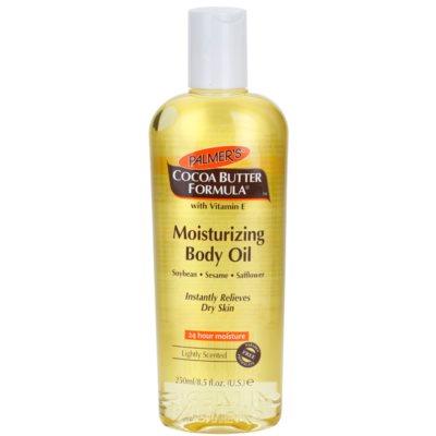hydratační tělový olej pro suchou pokožku