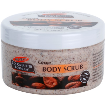 Body Scrub With Moisturizing Effect