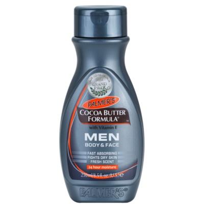 Palmer's Men Cocoa Butter Formula creme hidratante para rosto e corpo com vitamina E
