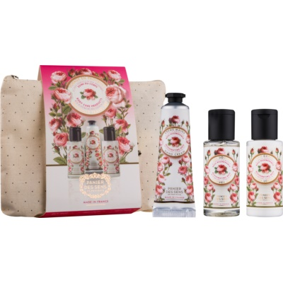 Panier des Sens Rose Cosmetica Set  I.