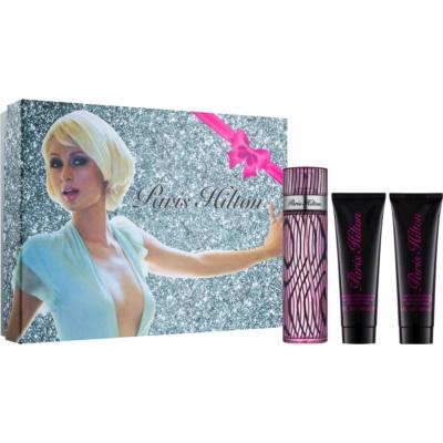 Paris Hilton Paris Hilton Geschenkset VIII.  Dusch -und Badcreme 90 ml + Eau de Parfum 100 ml + schimmernde Körpermilch 90 ml