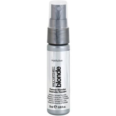 obnovující sprej pro blond a melírované vlasy