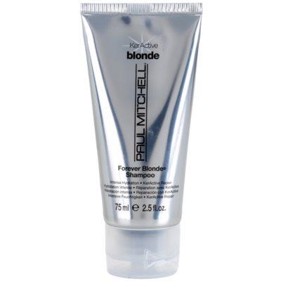 šampon pro blond vlasy