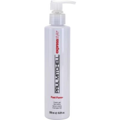 krémový gel flexibilní zpevnění