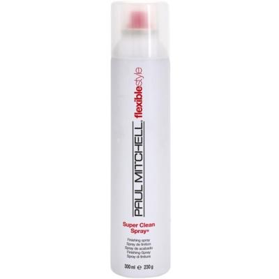 sprej pro finální úpravu vlasů pro flexibilní zpevnění