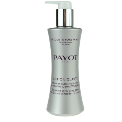 Payot Absolute Pure White lotion visage anti-taches pigmentaires