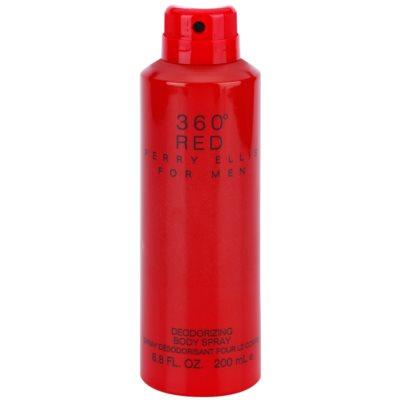 telový sprej pre mužov 200 ml
