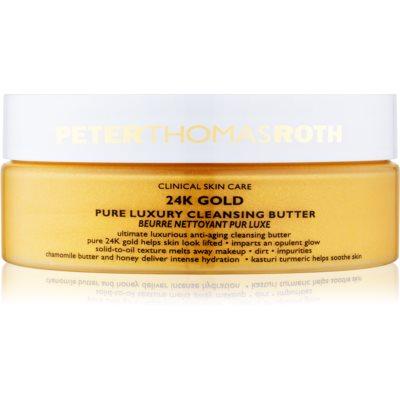 luxuosa manteiga de limpeza anti-envelhecimento