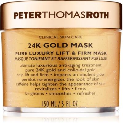 luxusná spevňujúca maska na tvár s liftingovým efektom