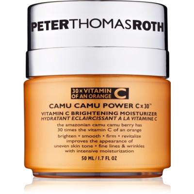 crema hidratante iluminadora con vitamina C