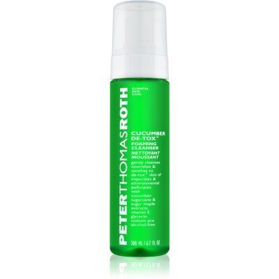 espuma limpiadora para el rostro