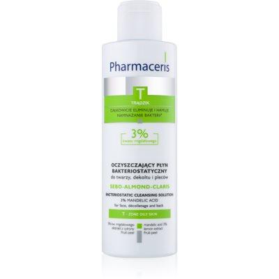 Pharmaceris T-Zone Oily Skin Sebo-Almond-Claris čistilna voda za mastno in mešano kožo  190 ml