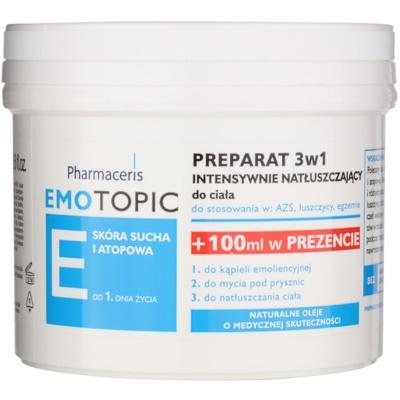 Pharmaceris E-Emotopic εντατική φροντίδα με λάδι σώματος για παιδιά και ενήλικες 3 σε 1