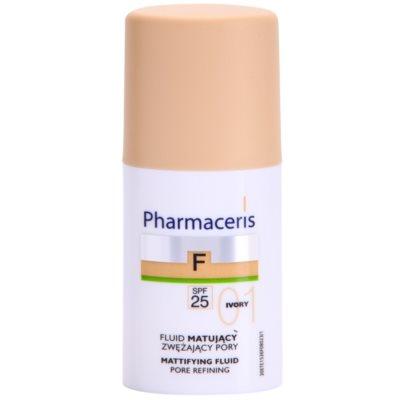 matující fluidní make-up SPF 25