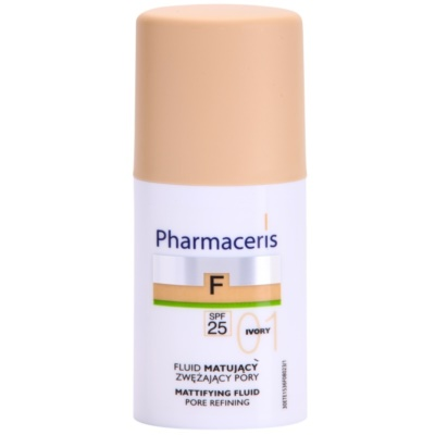 Make-up lichid matifiant SPF 25