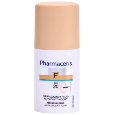 make up hidratant SPF 20