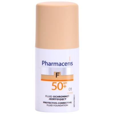 capac de protectie pentru machiaj SPF 50+