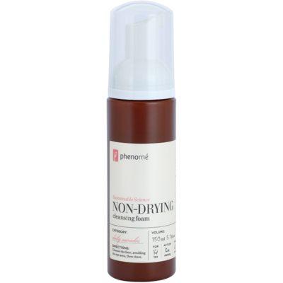 sanfter Reinigungsschaum für empfindliche Haut mit der Neigung zum Erröten