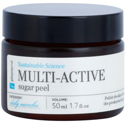 peeling de açúcar para todos os tipos de pele inclusive sensível