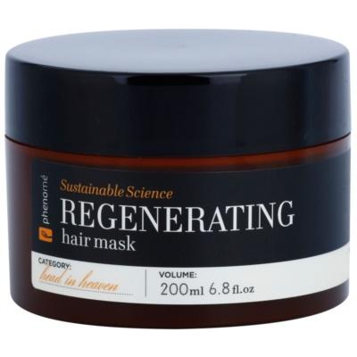 mascarilla regeneradora para cabello seco y dañado