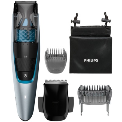 Philips Beardtrimmer Series 7000 BT7210/15 Baard Trimmer met Zuiger